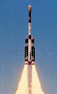 Augmented Satellite Launch Vehicle five-stage solid propellant rocket