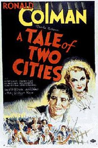 A Tale of Two Cities (1935 film) - 1935 US Theatrical Poster
