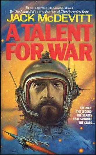 A Talent for War - 1989 Paperback edition cover