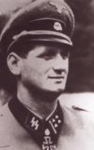 Albert Frey (SS officer) - Image: Albert Frey (SS officer)