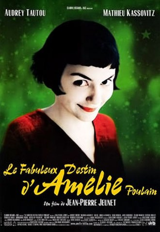 Amélie - French theatrical poster