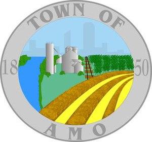 Amo, Indiana - Image: Amotownseal 2000