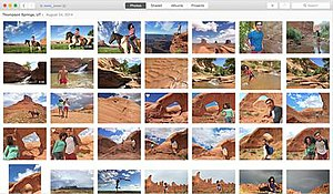 Apple Photos - Image: Apple Photos screenshot Mac