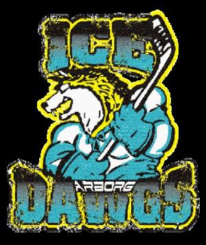 Arborg Ice Dawgs - Image: Arborg Ice Dawgs logo