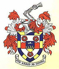 Coat of arms of Beddington and Wallington Borough Council granted in 1937