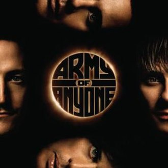 Army of Anyone (album) - Image: Army of Anyone Cover 2006