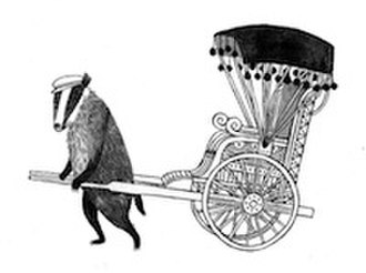 Wildwood (novel) - Carson Ellis's favorite Wildwood drawing, a badger pulling a rickshaw, was included in the story solely so she could draw it.