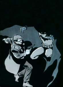 Batman And Jim Gordon On The Cover Of 407 May 1987 Art By David Mazzucchelli
