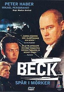 <i>Beck – Spår i mörker</i> 1997 television crime film directed by Morten Arnfred