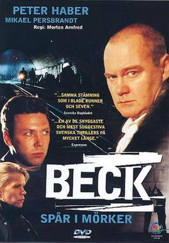 Beck – Spår i mörker - Swedish DVD-cover