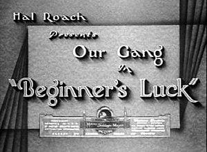 Beginner's Luck - Image: Beginners luck