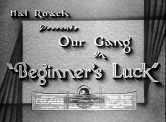 Beginner's Luck - Image: Beginners luck