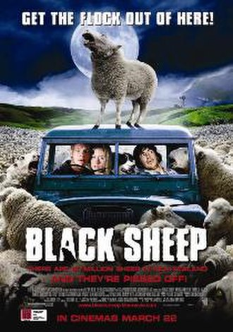 Black Sheep (2006 New Zealand film) - New Zealand theatrical release poster