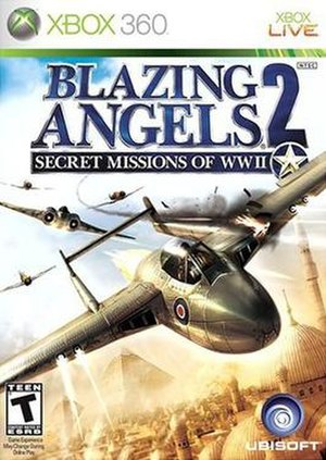 Blazing Angels 2: Secret Missions of WWII - Xbox 360 Box Art