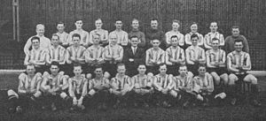 1928–29 Brentford F.C. season - Image: Brentford FC, 1928 29 team photograph