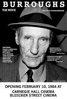 <i>Burroughs: The Movie</i> 1983 film by Howard Brookner
