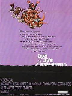 <i>Bye Bye Braverman</i> 1968 film by Sidney Lumet