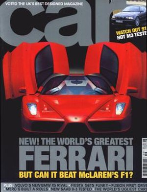 Car (magazine) - Car (UK edition), September 2002 issue
