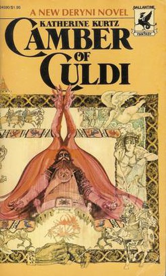 Deryni novels - Cover of Camber of Culdi (1976); artwork by Ted Coconia.