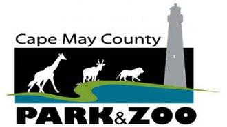 Cape May County Park & Zoo - Image: Cape May County Park & Zoo logo 300x 169px (2011)