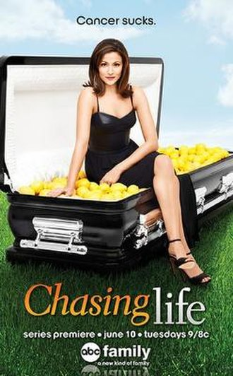 Chasing Life - Promotional poster of the series' premiere.
