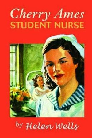 Cherry Ames - Cover of reprint of Cherry Ames, Student Nurse (1943), the first Cherry Ames book