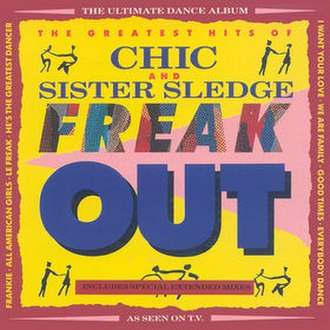 Freak Out: The Greatest Hits of Chic and Sister Sledge - Image: Chic Freak Out