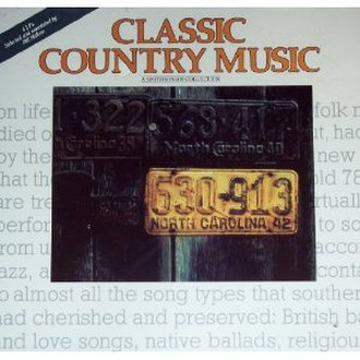 Classic Country Music: A Smithsonian Collection - Image: Classic Country Music A Smithsonian Collection