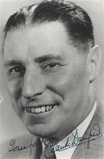 Claude Dampier British actor