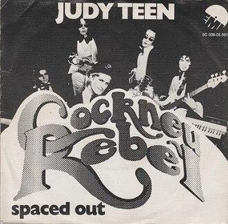 Judy Teen - Image: Cockney Rebel Judy Teen 1974 Single Dutch Cover