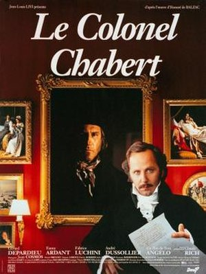 Colonel Chabert (1994 film) - Film poster