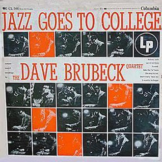 Jazz Goes to College - Image: Columbia CL 566