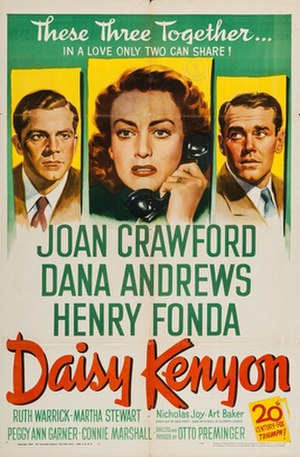 Daisy Kenyon - 1947 US Theatrical Poster