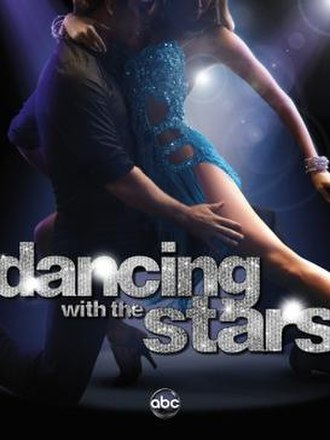 Dancing with the Stars (U.S. season 14) - Promotional poster, featuring pro dancers Kym Johnson and Tristan MacManus