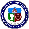 Official seal of Danville, Illinois