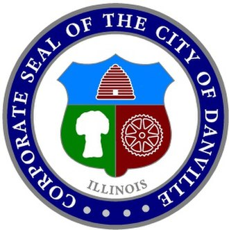 Danville, Illinois - Image: Danville, Illinois (city seal)