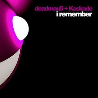 I Remember (Deadmau5 and Kaskade song) - Image: Deamau 5 I Remember cover