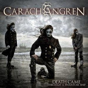 Death Came Through a Phantom Ship - Image: Death Came through a Phantom Ship (Carach Angren) album cover