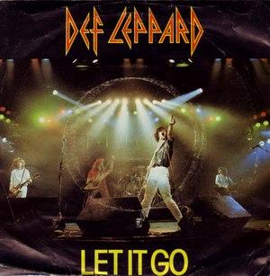 Let It Go (Def Leppard song) - Image: Def Leppard Letitgo