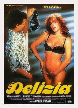 Delizia (film) - Italian theatrical release poster