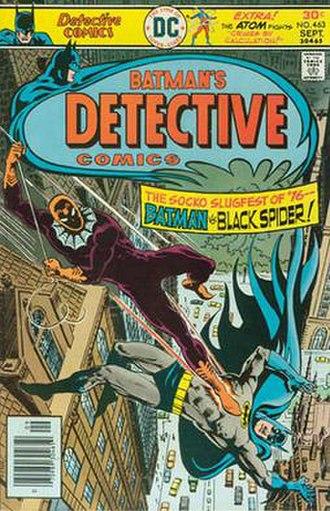 Black Spider - Image: Detective Comics 463 1st Calc Blk Spdr