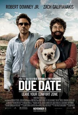 Due Date - Theatrical release poster