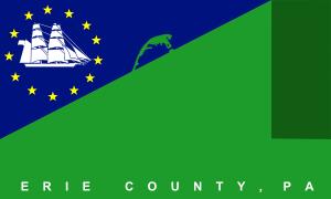 Millcreek Township, Erie County, Pennsylvania - Image: Erie county flag