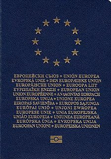 European Union laissez-passer travel document issued to civil servants and members of the institutions of the European Union