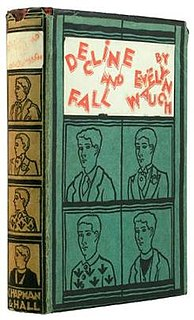 <i>Decline and Fall</i> 1928 book by Evelyn Waugh