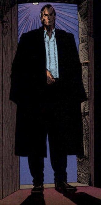 Hellblazer - The First of the Fallen, a principal antagonist in Garth Ennis' run on Hellblazer, as drawn by William Simpson