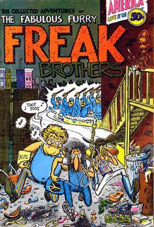 The Fabulous Furry Freak Brothers - Image: Freak Brother No 1