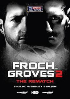 Carl Froch vs. George Groves II Boxing competition