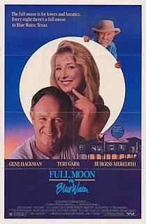 <i>Full Moon in Blue Water</i> 1988 film by Peter Masterson