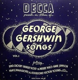 George Gershwin Songs, Vol. 1 - Image: George Gershwin Songs, Vol. 1 (78 image)